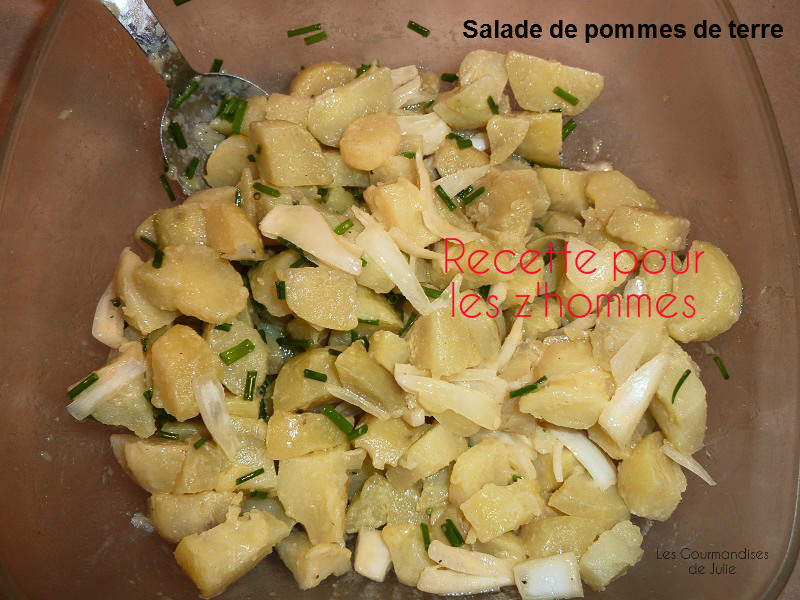 salade de patates recette salade recette salade de pommes de terre recette patates 1 club des. Black Bedroom Furniture Sets. Home Design Ideas